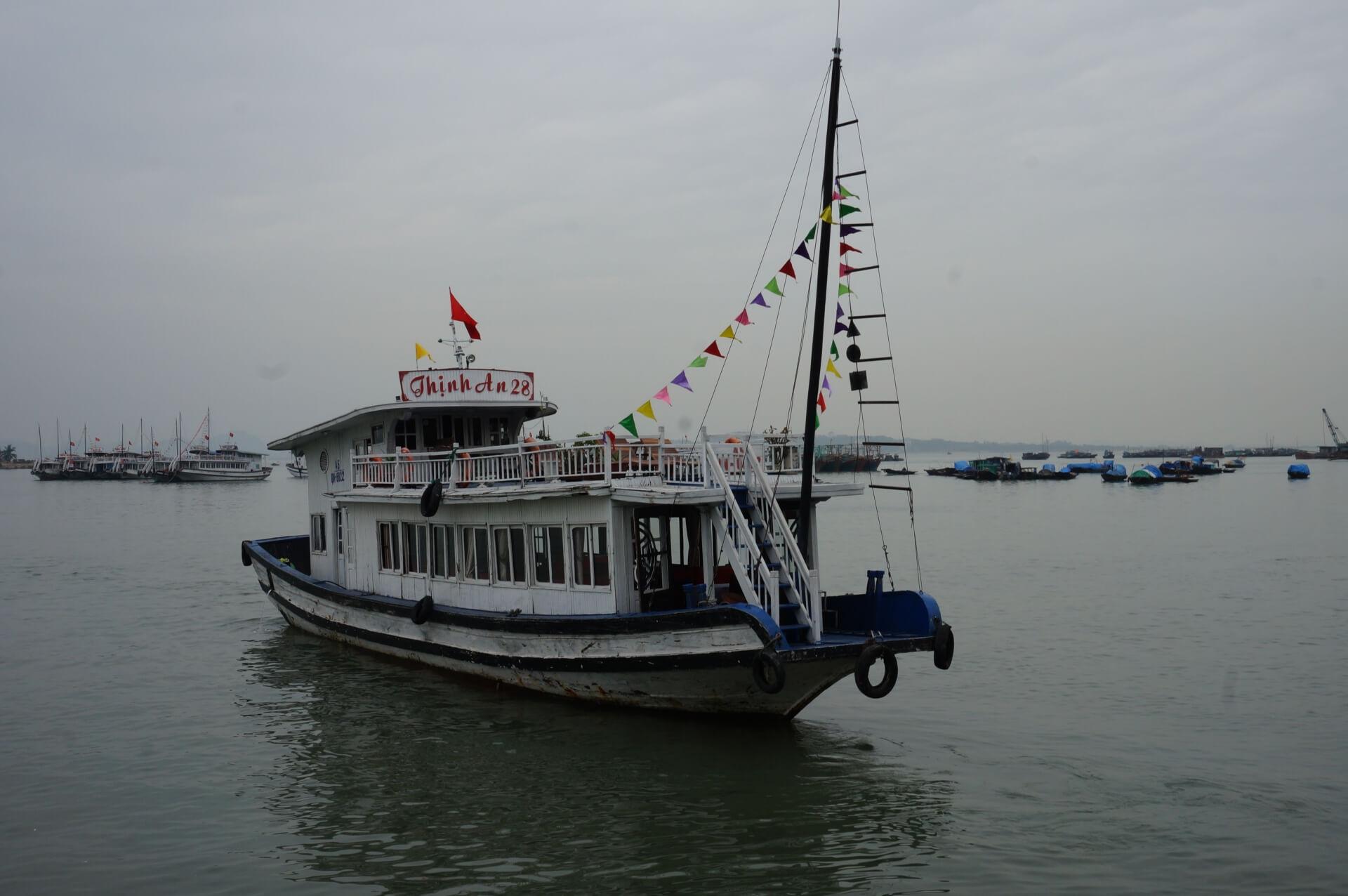 ハロン湾クルーズ船