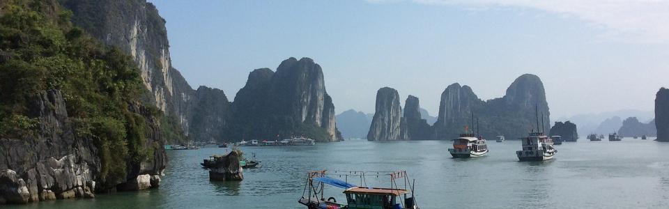 ハロン湾 ベトナム観光